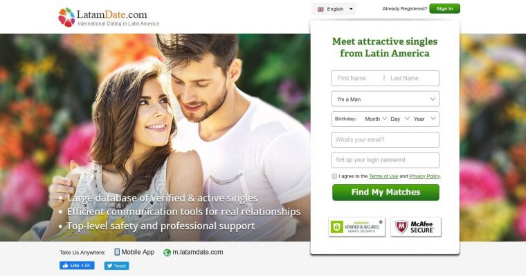 Latamdate Dating Site
