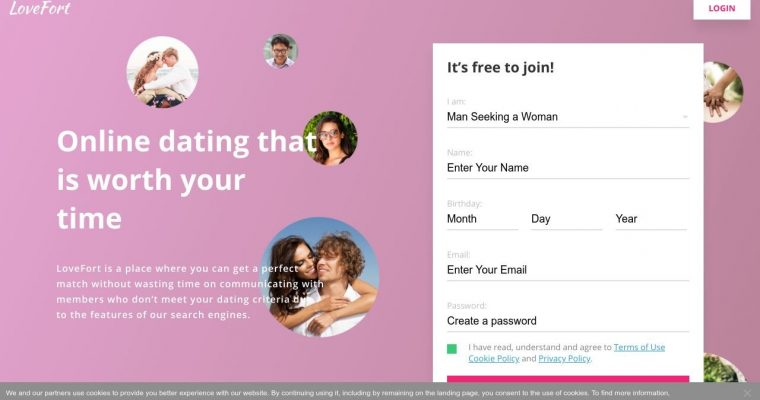 LoveFort Dating Site