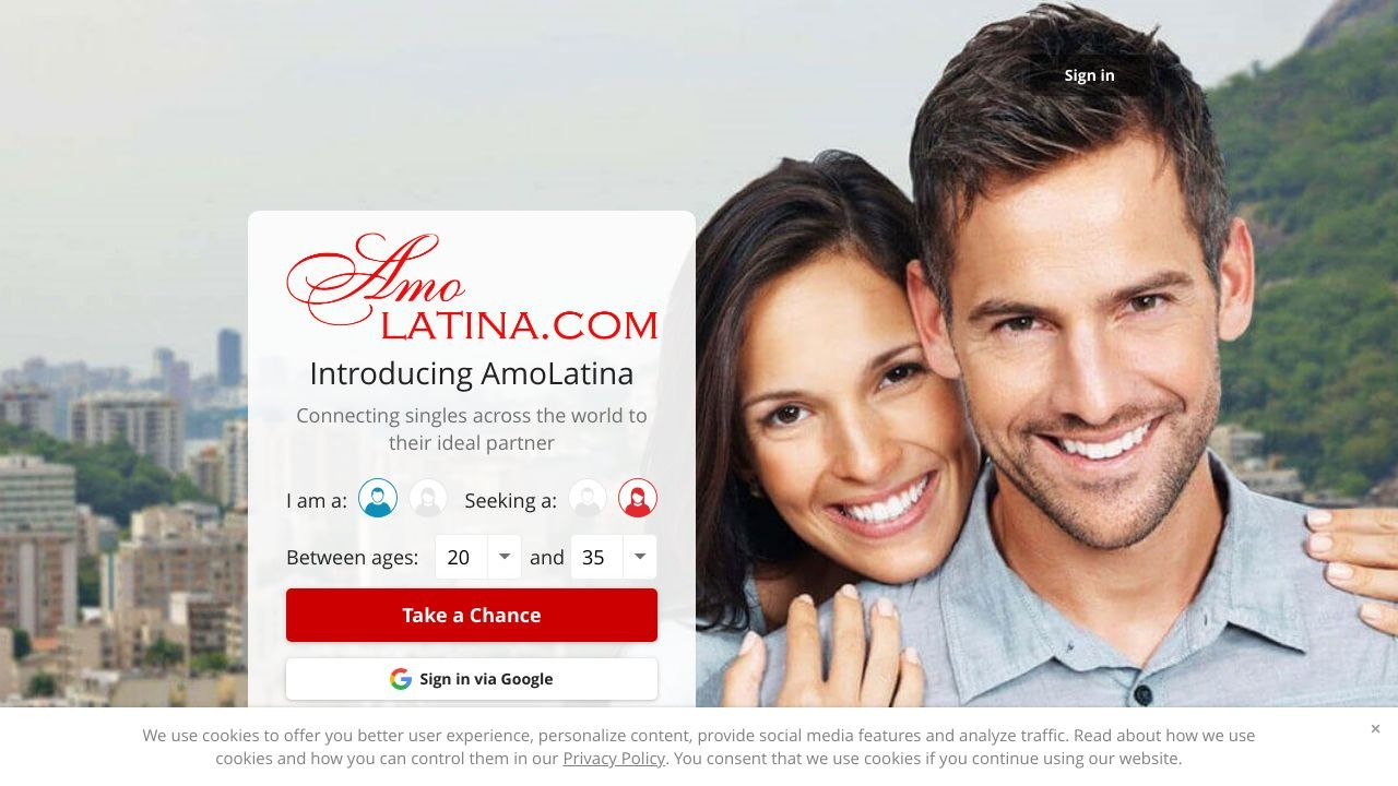 Amo Latina Dating Site